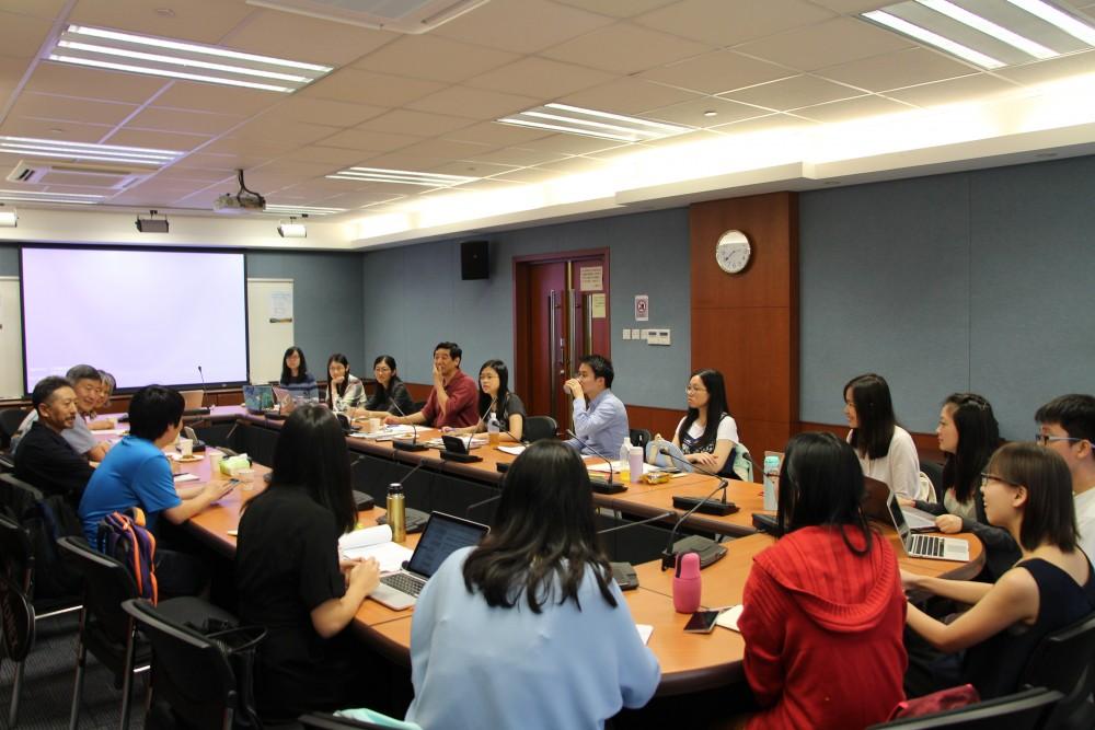 討論情況(香港中文大學,24-5-2017)