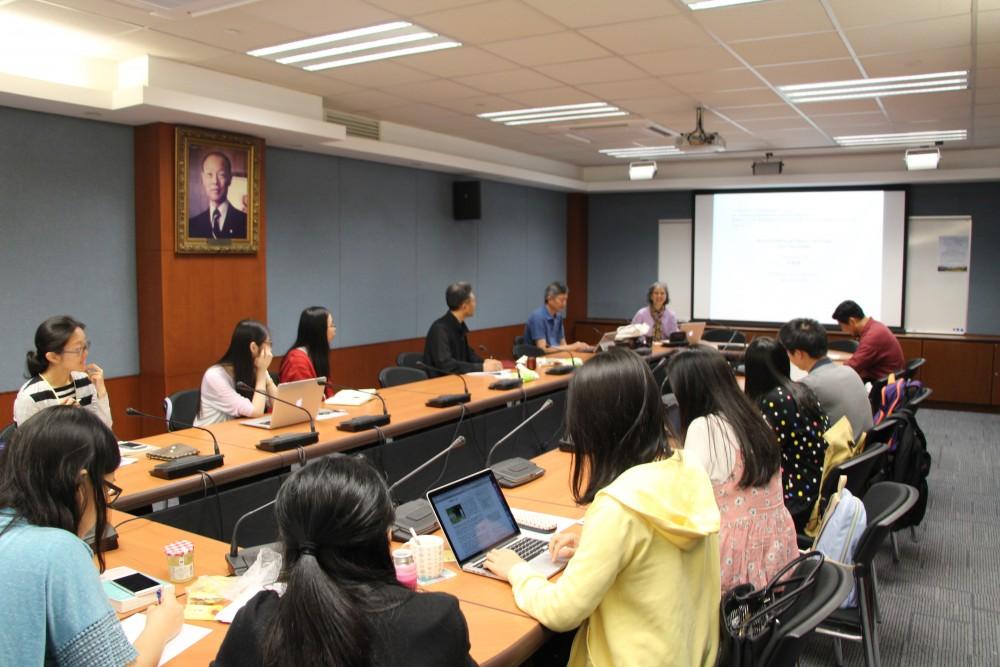討論情況(香港中文大學,25052017)